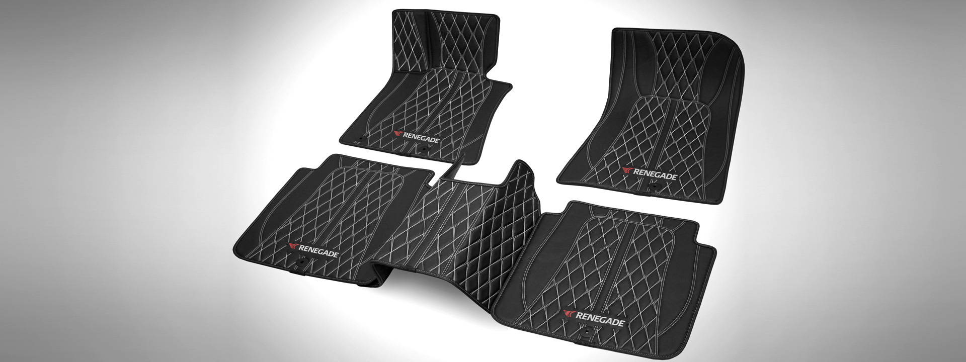 Set of car foot pads (carpets) for your vehicle from renegade-design