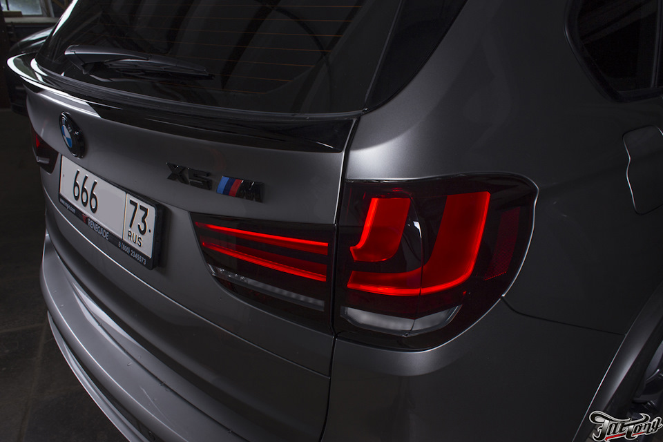 RENEGADE Spoilers for BMW X5 F15 / F85 (video / photos)