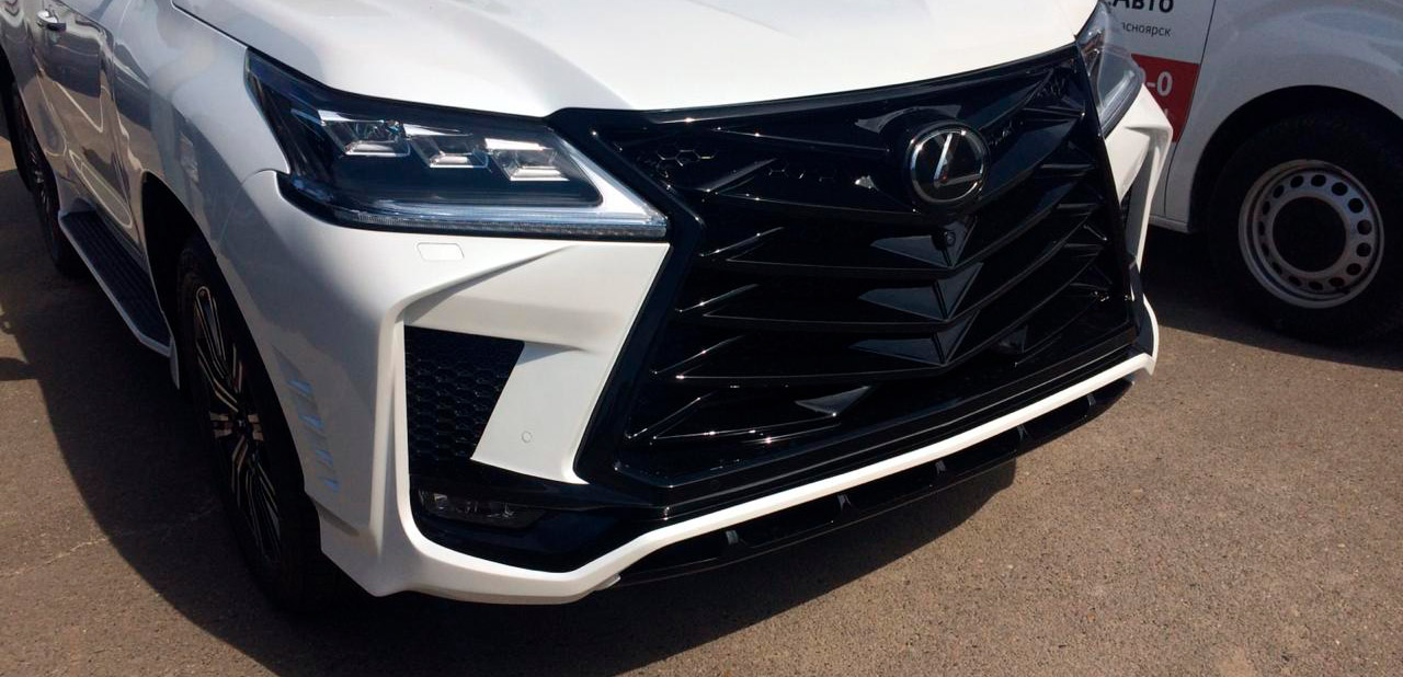 Front bumper for Lexus lx 450d/570