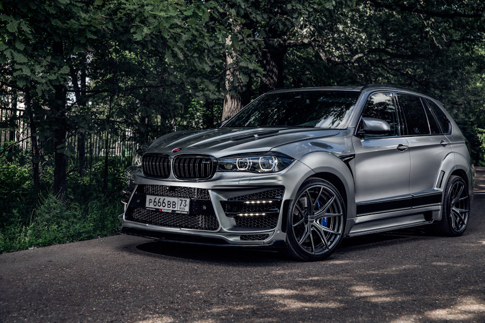 BMW X5 F15\F85 Body Kit from Renegade Design