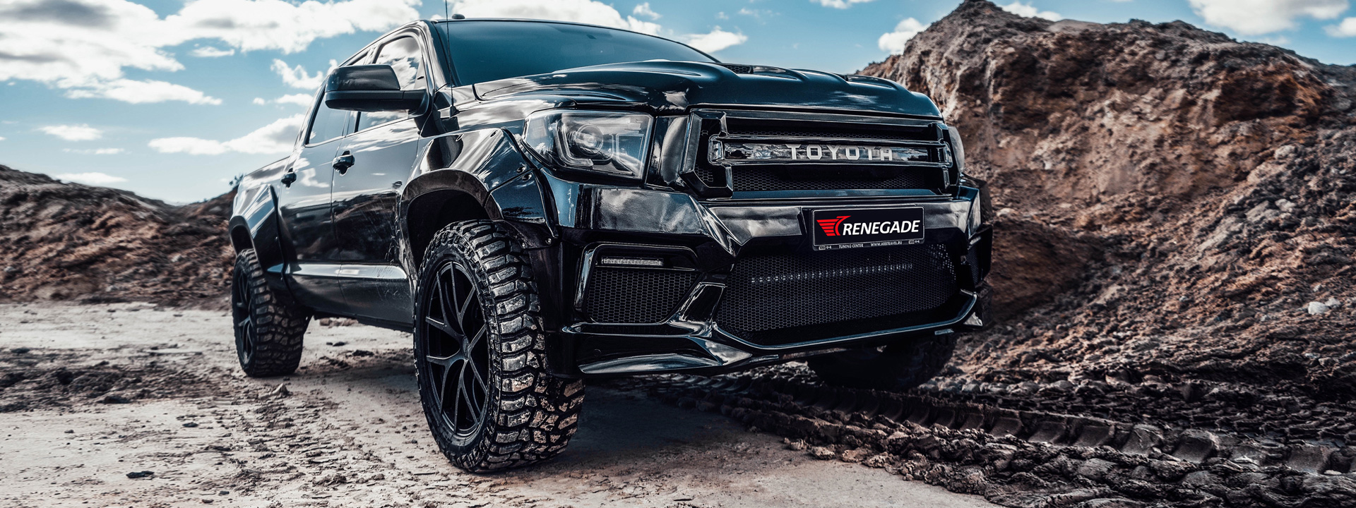 New body kit for Toyota Tundra