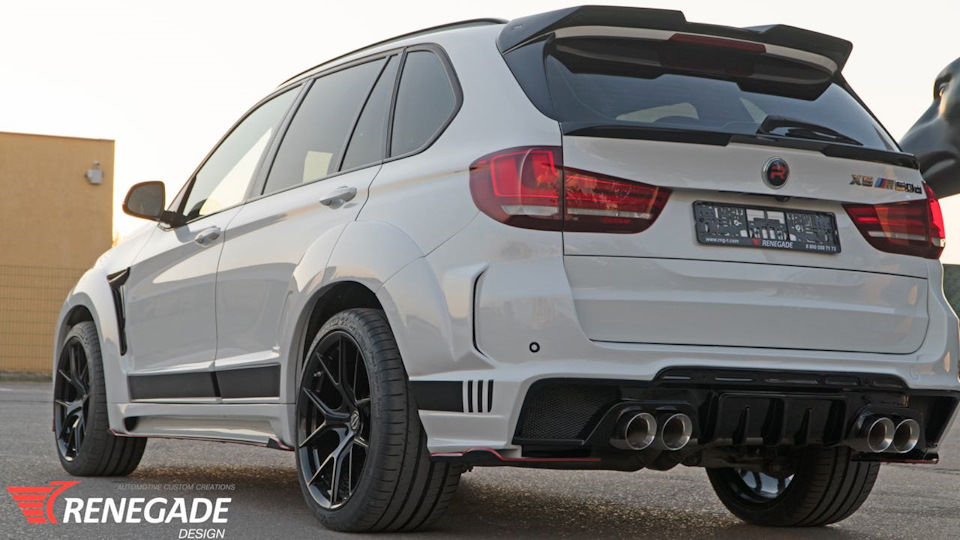 Creating a body kit for AUDI Q7. We Have Created a New  BMW X5 Body Kit from Renegade Design