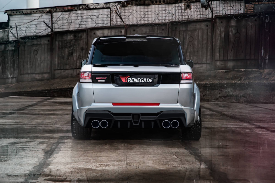 Creating the Coolest Range Rover Sport Body Kit, Part 1