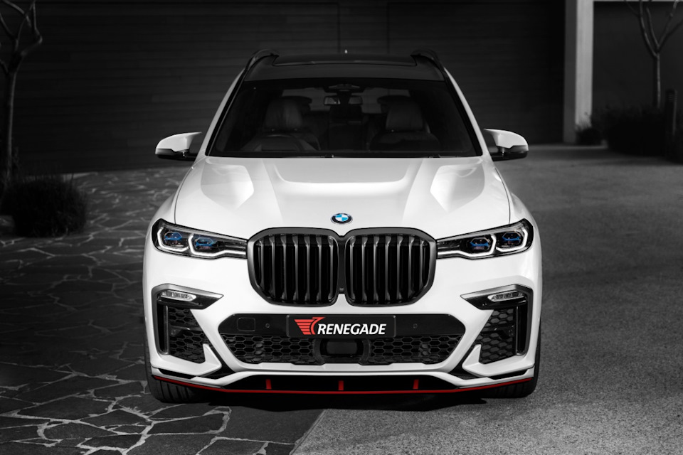 Exclusive Body Kit for BMW X7 Punisher