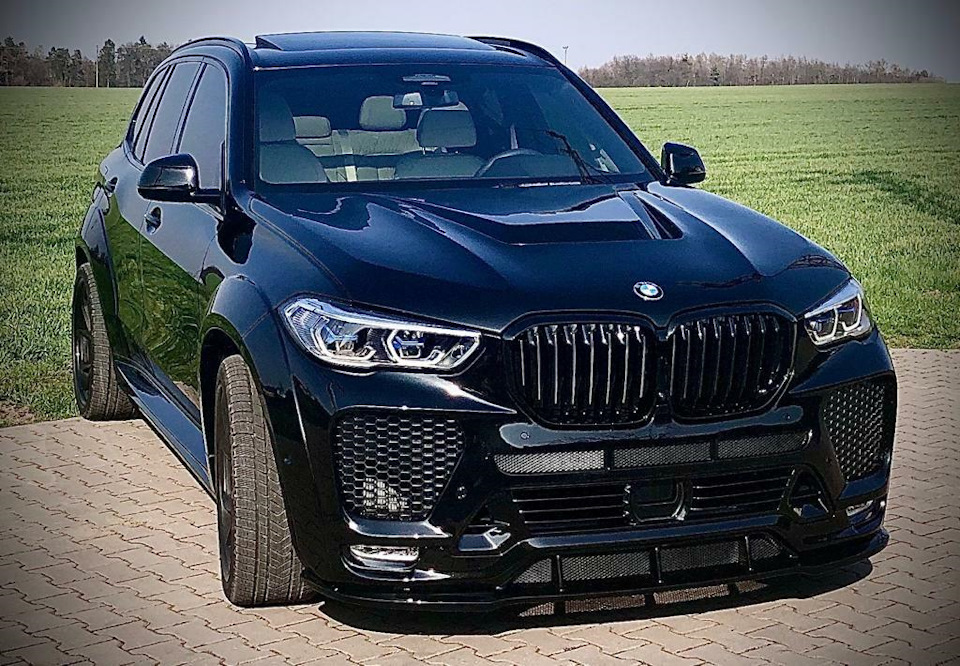 The Meanest Body Kit for BMW X5 G05 \ F95 from Renegade Design.