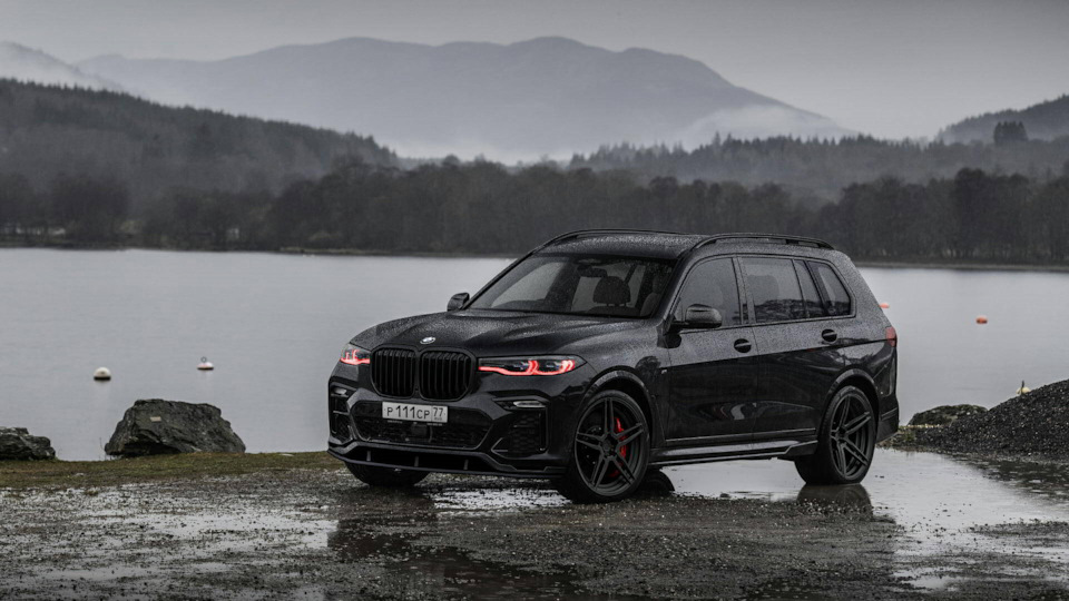 Splitter + Diffuser for BMW X7 from Renegade Design