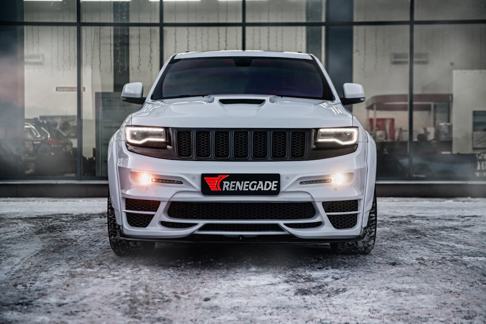 RENEGADE Hood for Jeep Grand Cherokee WK2