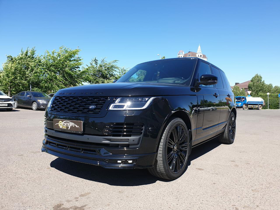 Exclusive ABS Plastic Body Kit for Range Rover from Renegade Design