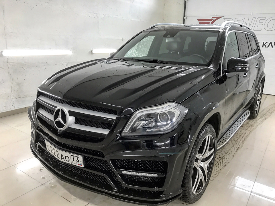 RENEGADE Body Kit for Mercedes-Benz GL x166 is available